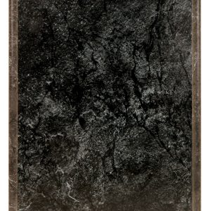 "10 1/2"" x 13"" DuraCoat Improved Black Marble Finish Plaque"