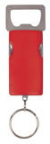 """3"""" Red 4-Function Bottle Opener with Keychain"""