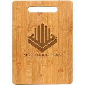 "13 3/4"" x 9 3/4"" Bamboo Rectangle Cutting Board"