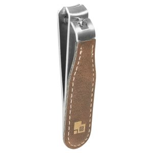 Rustic/Gold Laserable Leatherette Nail Clipper