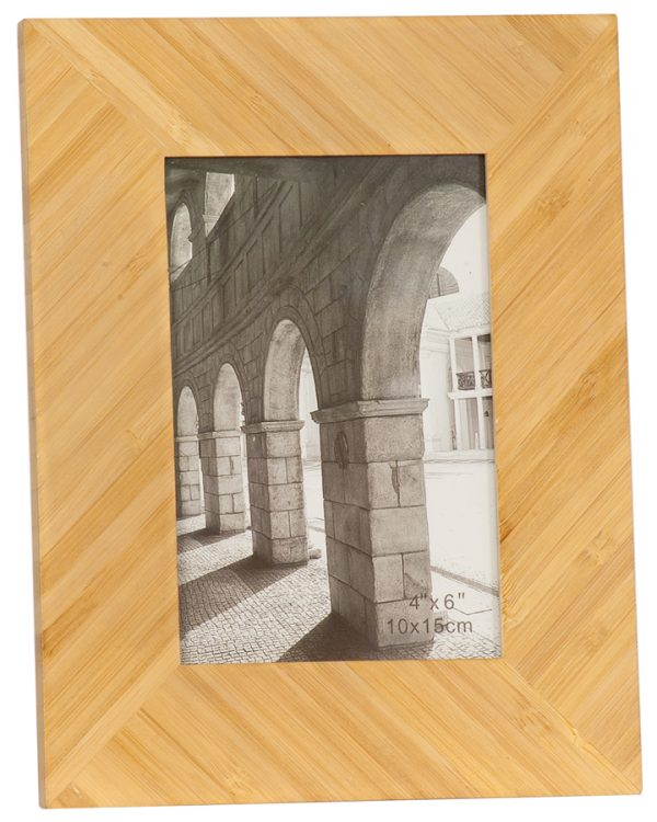 """4"""" x 6"""" Bamboo Picture Frame"""